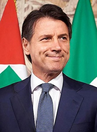 High Council of Defence (Italy) - Image: Giuseppe Conte Official