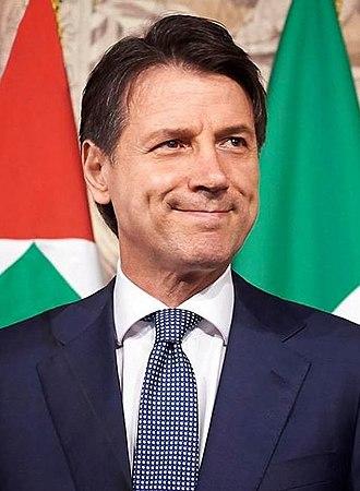 Conte Cabinet - Image: Giuseppe Conte Official