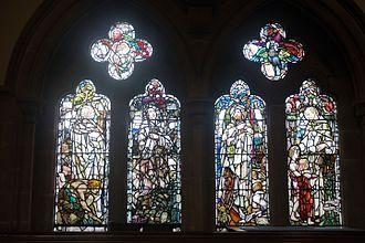 Robert Herbert Story - Robert Story Memorial Window by Douglas Strachan, in the Bute Hall of Glasgow University
