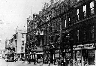 Glasgow Empire Theatre former theatre in Glasgow, Scotland