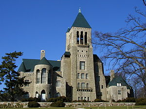 Bryn Athyn Historic District - Image: Glencairn Museum