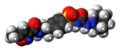 Glisoxepide molecule spacefill.png