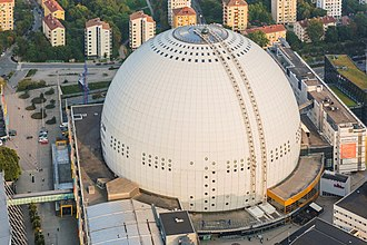 Eurovision Song Contest 2016 - Ericsson Globe, Stockholm - host venue of the 2016 contest