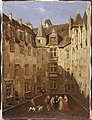 Gluck, Vue de la cour du château de Pau.jpg