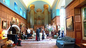 Glyndebourne - The organ room, 1 August 2006