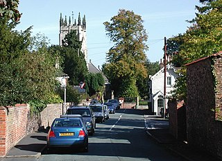 Kirk Ella Village in the East Riding of Yorkshire, England