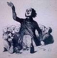 Goguettier par Honoré Daumier.jpg