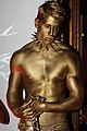 Gold Bullion Johnnie Walker Body painting (9363877839).jpg