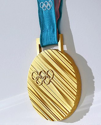 2018 Winter Olympics - Gold medal of the 2018 Olympics