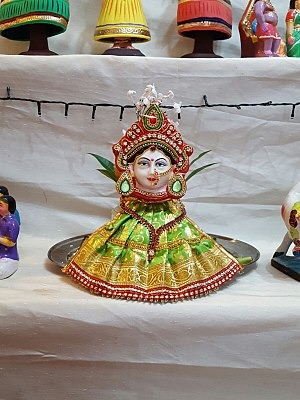 Golu - A golu doll in Tamil Nadu
