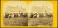 Gov't school for Indians. Pawnee reservation, from Robert N. Dennis collection of stereoscopic views.png
