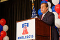 Governor of New Jersey Chris Christie at Northeaste Republican Leadership Conference June 2015 by Michael Vadon 05.jpg