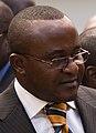 Governor of South Kivu, Mr. Louis-Léonce Cirimwami Muderhwa, after a meeting at MONUC Bukavu office (cropped).jpg