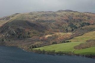 Gowbarrow Fell mountain in United Kingdom