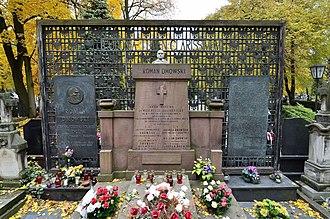 Roman Dmowski - Grave in Bródno Cemetery