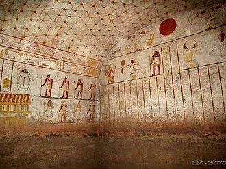El-Kurru - Image: Grabkammer des Tanotamun
