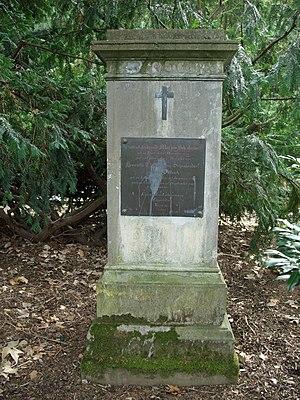 Max von Schenkendorf - Image: Grabmal Schenkendorf Hauptfriedhof Koblenz