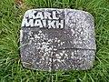 Grabstein Karl Mauch, Pragfriedhof Stuttgart, 20190428.jpg