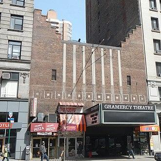 Gramercy Theatre - Image: Gramercy Theatre 127 E23 St sun jeh