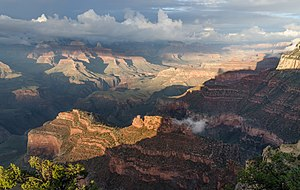 Grand Canyon National Park - From Powell Point on the South Rim