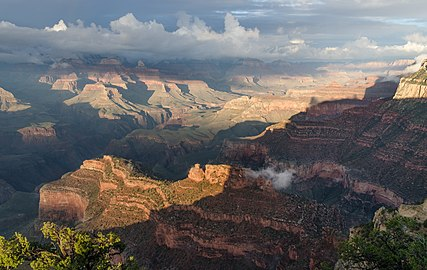 Grand Canyon Powell Point Evening Light 02 2013.jpg