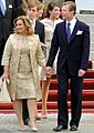 Grand Duchess and Grand Duke Luxembourg Royal Wedding 2012-003.jpg