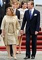 Grand Duchess and Grand Duke Luxembourg Royal Wedding 2012-003.jpg