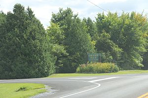 Grand Isle State Park (Vermont) - Image: Grand Isle State Park entrance in Vermont