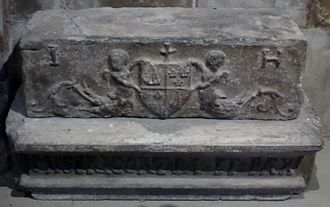 John Hamilton (archbishop of St Andrews) - Grave of Archbishop John Jamilton