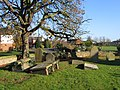 Graveyard at Dodleston St Mary - geograph.org.uk - 621686.jpg