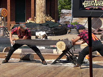 Great Alaskan Lumberjack Show crosscut saw.jpg