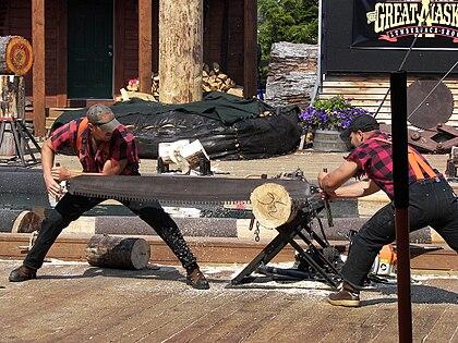 Great Alaskan Lumberjack Show crosscut saw.jpg