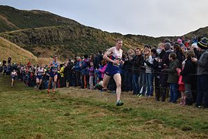 Andy Vernon - Vernon at the 2017 Great Edinburgh International Cross Country