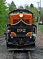 Great Northern Railway - 192 diesel locomotive (General Motors Electro-Motive Division NW5) 3 (22105875878).jpg