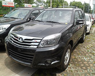 Great Wall Haval H3 - Image: Great Wall Haval H3 China 2012 06 02