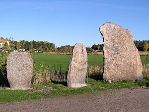 Södermanland Runic Inscription 109 - Runestones Sö 107, 108, and 109.