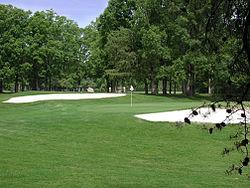 El Golf: El Deporte de los Caballeros 250px-Green_with_two_bunkers