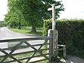 Greensand Way crosses School Lane - geograph.org.uk - 1293002.jpg