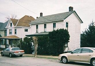 Academy Hill Historic District (Greensburg, Pennsylvania) - Image: Greensburg pennsylvania 333 walnut