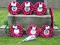 Gretna Rail Disaster Memorial Wreaths - geograph.org.uk - 1316452.jpg