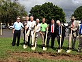 Groundbreaking for Wastewater Collection and Treatment Plant in Section (9562418909).jpg