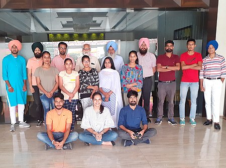 Group photo - MiniTTT Punjab 2019