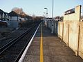Grove Park stn Bromley North platform look north.JPG