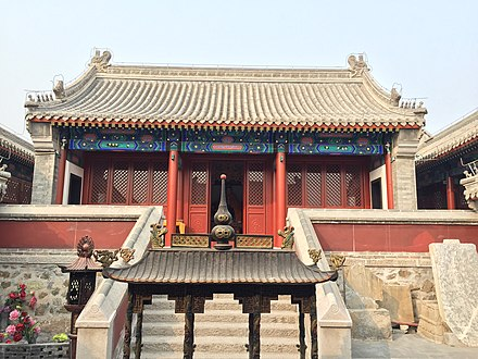 A Temple of the Goddess in Gubeikou. Gubeikou Taoist Temple (20150215103242).JPG