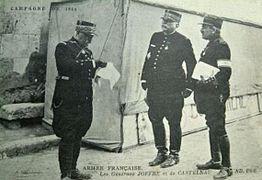 Guerre 14-18-Généraux Joffre et de Castelnau-1914
