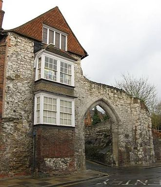 Surrey Archaeological Society - Castle Arch, Guildford