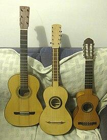 Guitarra, tenor y guitarro.JPG