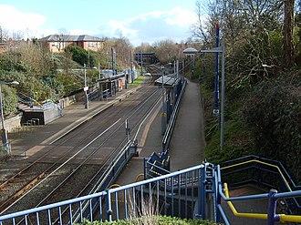 Dudley Street Guns Village tram stop - Dudley Street Guns Village