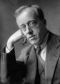 Gustav Holst omkring 1921