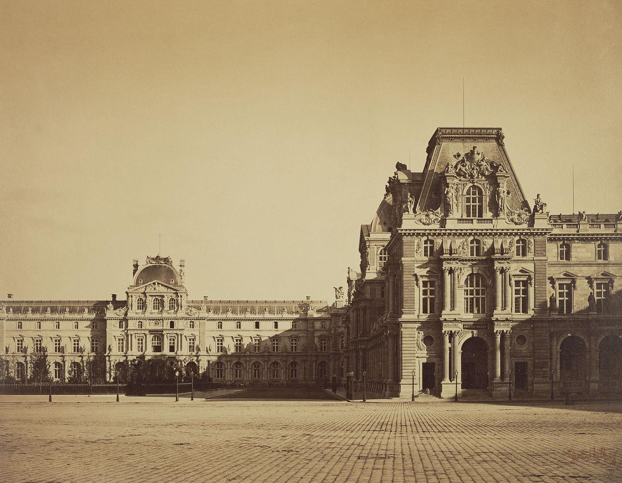 File gustave le gray pavillon mollien for Les architectures